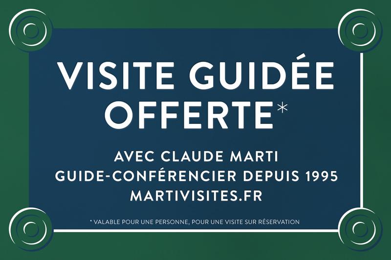 Carte Cadeaux pour une visite guidée de Paris