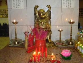 divinité maitreya du quartier chinois- visite guidée paris