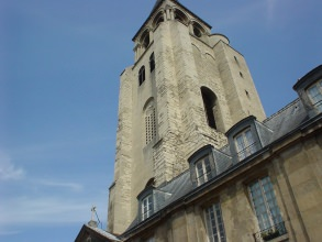 tour romane de l'église Saint-Germain-des-Prés- Visite guidée Paris