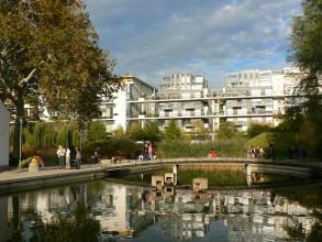jardin romantique du parc de Bercy- visite guidée de paris