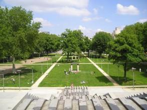 Parc de Bercy- visite guidée de paris