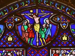 Christ à la Sainte-Chapelle- visite guidée paris