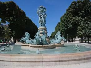 Clous d'Arago fontaine de l'Observatoire Carpeaux- visite guidée paris