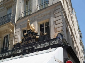 restaurant Escargot Montorgueil quartier des Halles- visite guidée paris