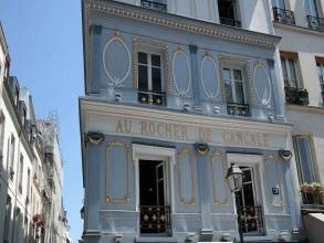 Au Rocher de Cancale rue Montorgueil- visite guidée paris