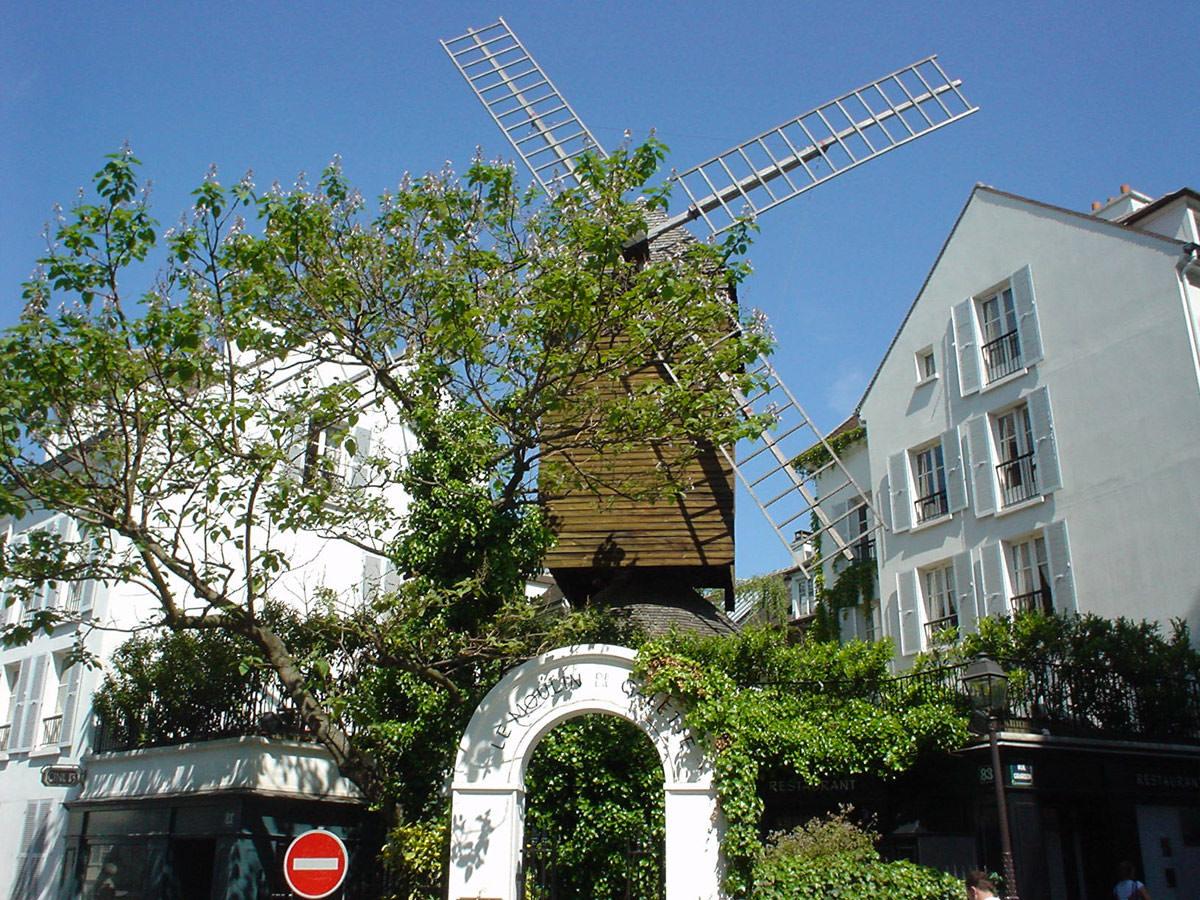 Montmartre le village martivisites visites guid es paris de claude marti - Moulin de la borderie ...