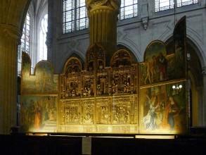 Eglise Saint-Germain-l'Auxerrois-retable- visite guidée paris