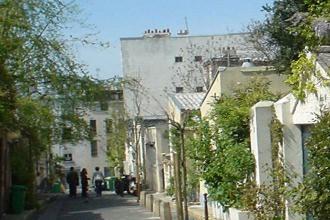 Belleville pavillon de l'Ermitage - Visite guidée Paris