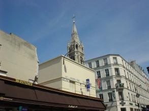 Belleville-Ménilmontant - Église Notre Dame la Croix de MénilmontantBelleville-Ménilmontant - Église Notre Dame la Croix de Ménilmontant - Visite guidée Paris