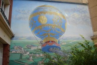 Montgolfière de la Butte aux Cailles- visite guidée paris
