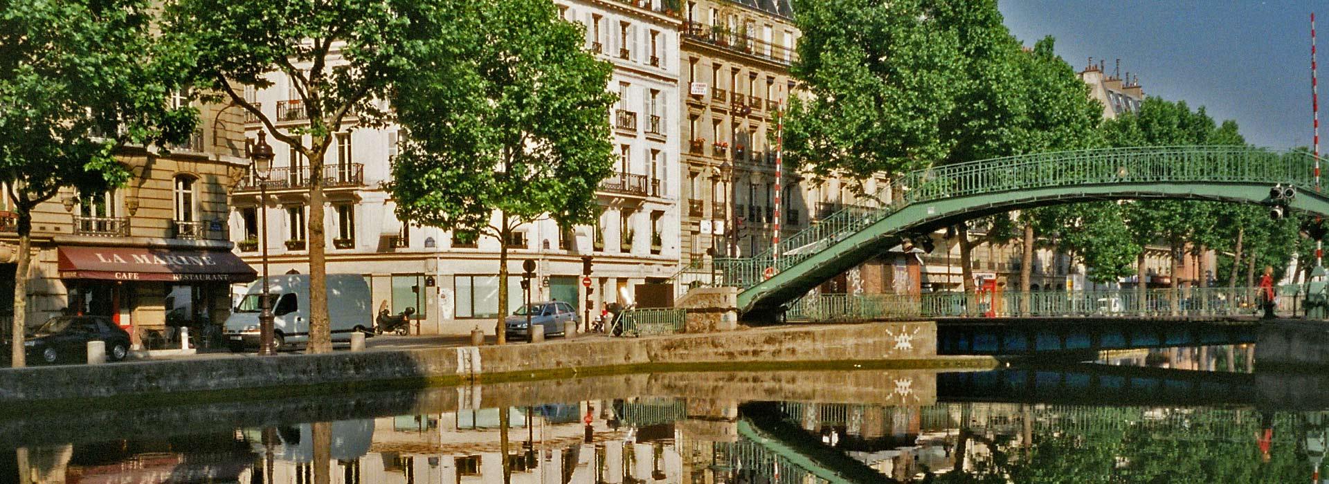 Croisière pédestre sur le canal Saint-Martin