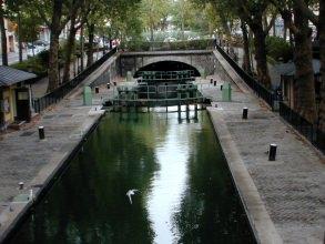 Canal Saint-Martin - Écluses - Visite guidée Paris