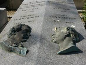 Cimetière de Montmartre - Goncourt - Visite guidée Paris