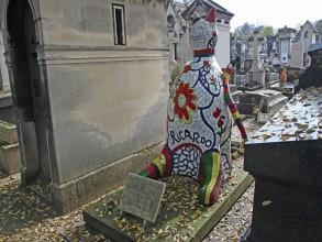 Cimetière du Montparnasse - Niki de Saint-Phalle - Visite guidée Paris