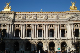 Façade de l'Opéra Garnier - Visite guidée Paris