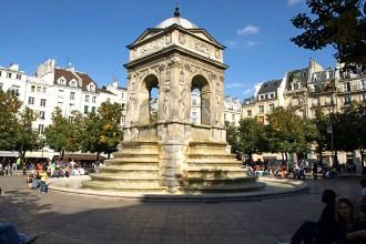 Fontaine des Innocents - Visite guidée Paris