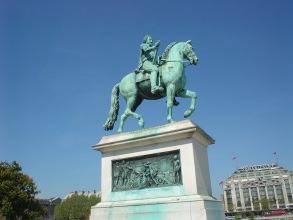 Île de la cité - Statue Henri IV - Visite guidée Paris