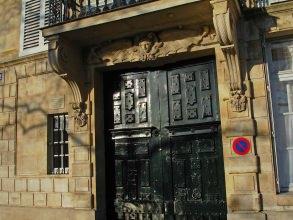 porche Baudelaire du quai-de-Béthune de l'île Saint-Louis- visite guidée paris