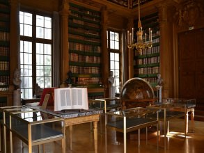 Institut de France - bibliothèque - Visite guidée Paris