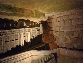 catacombes maquettes de Decure- visite guidée paris