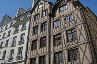 Maisons à colombages - Visite guidée Paris