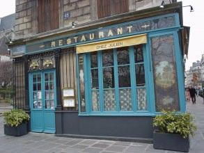 Marais médiéval - Restaurant Chez Julien - Visite guidée Paris