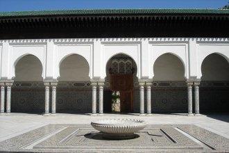 patio de la Grande Mosquée de Paris - Visite guidée Paris