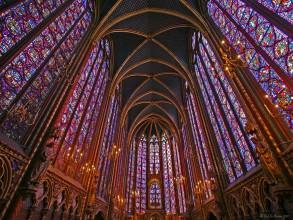 nef de la Sainte-Chapelle- visite guidée paris