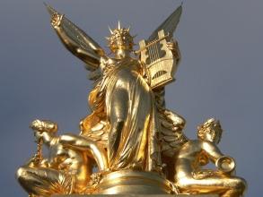 Opéra Garnier - Apollon à la lyre - Visite guidée Paris