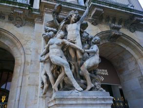 Opéra Garnier - danse de Carpeaux