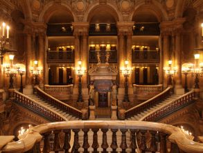 Opéra Garnier - escalier - Visite guidée Paris