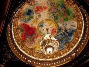 Opéra Garnier - plafond Chagall - Visite guidée Paris