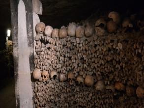 ossuaire des catacombes- visite guidée paris