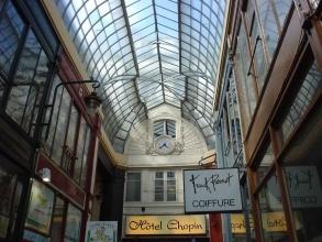 Hôtel Chopin des passages couverts- visite guidée paris