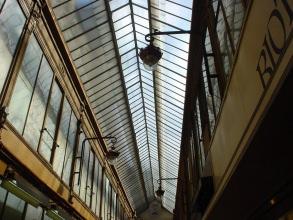 Les plus beaux passages couverts - Verrière du passage Jouffroy - Visite guidée Paris