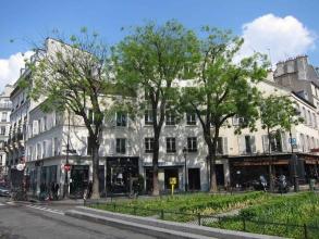 place Félix Lobligeois au Batignolles- visite guidée paris