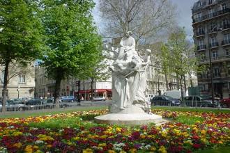 Alexandre Dumas fils à la plaine Monceau- visite guidée paris
