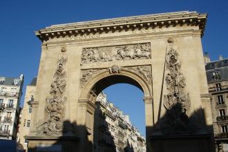 Porte Saint-Denis - Visite guidée Paris