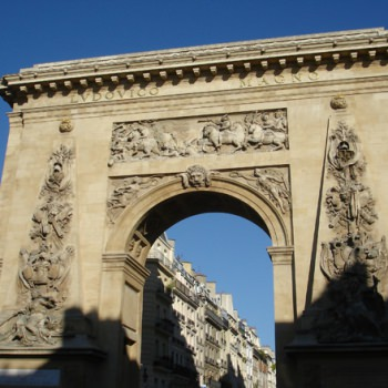 Porte Saint-Denis - Visite guidée Paris
