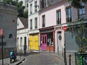 rue des Cascades à Ménilmontant- visite guidée paris
