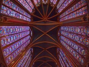 vue de la Sainte-Chapelle- visite guidée paris