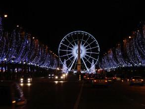 roue des Champs-Elysées - visite guidée paris