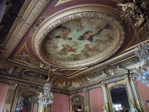 Hôtel Païva - Plafond Baudry - Visite guidée Paris