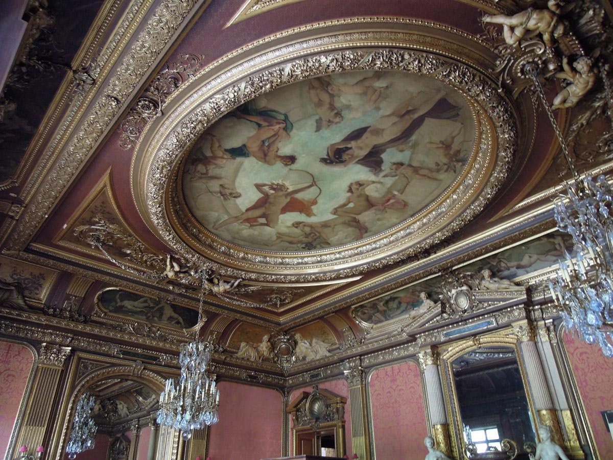 Pa va l 39 h tel de la marquise de la martivisites visites guid es paris de claude marti - Hotel miroir plafond paris ...