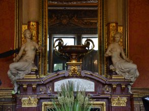 Hôtel Païva - Statues