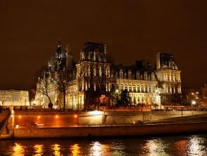 vue de Paris la nuit- visite guidée paris