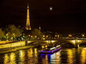 ponts de Paris la nuit- visite guidée paris