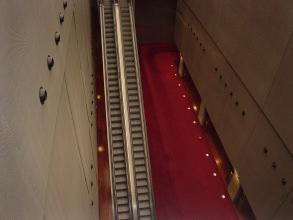 Bibliothèque François Mitterrand - Escalier mécanique - Visite guidée Paris