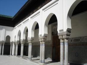Grande Mosquée - Colonnes - Visite guidée Paris
